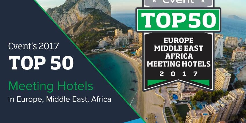 Cvent's Top 50 Meetings Hotel in EMEA 2017
