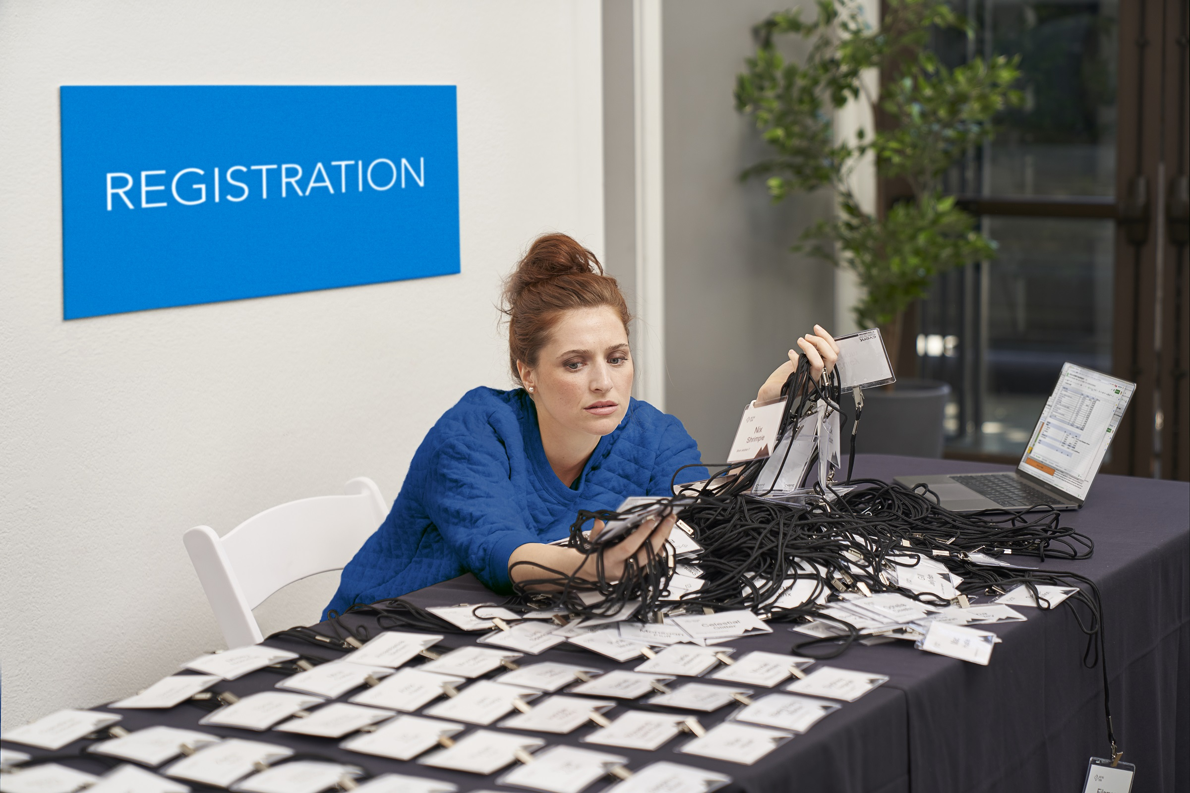 The Invisible Workload of registration - badge printing