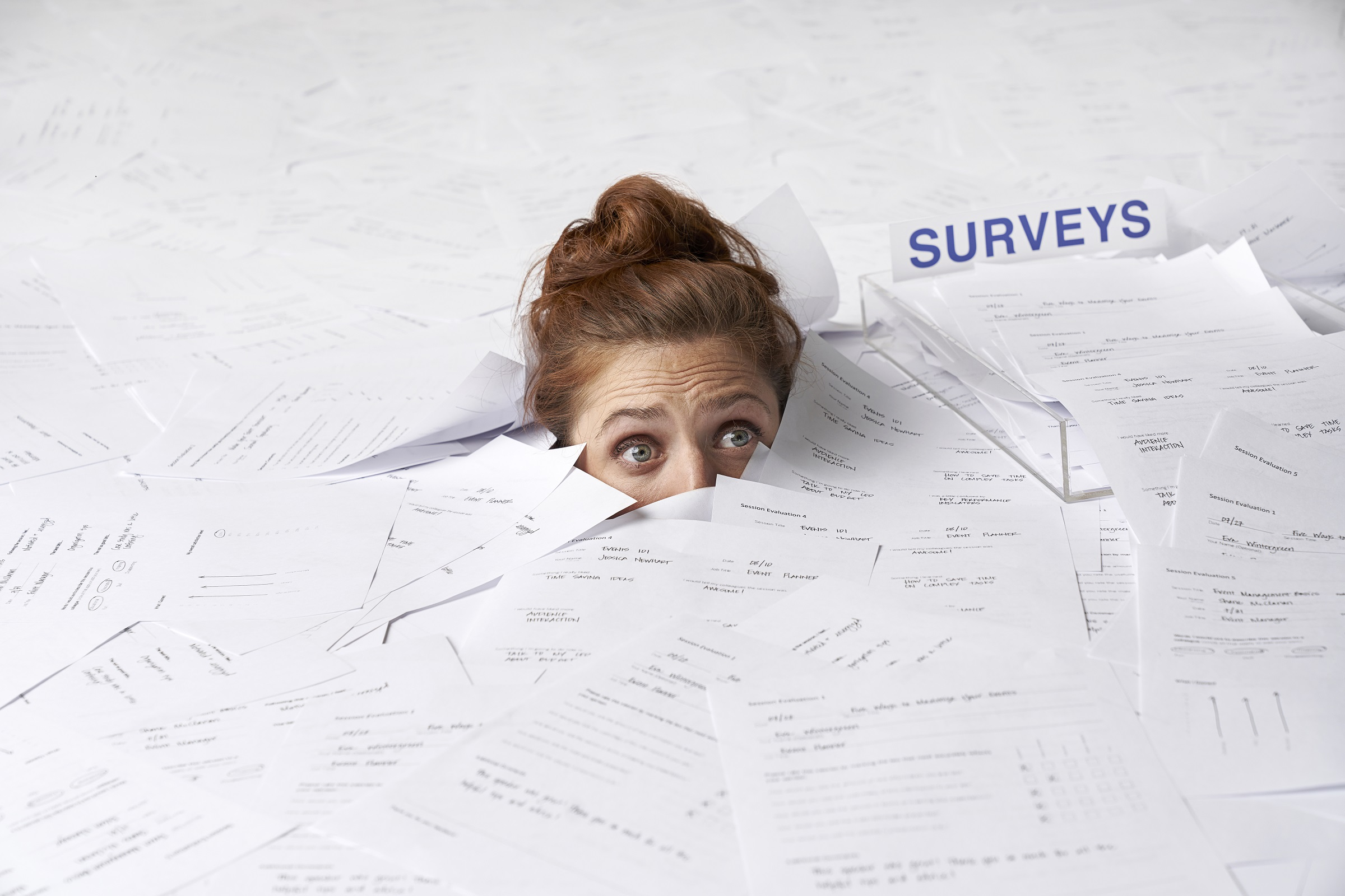 The Invisible Workload of event surveys
