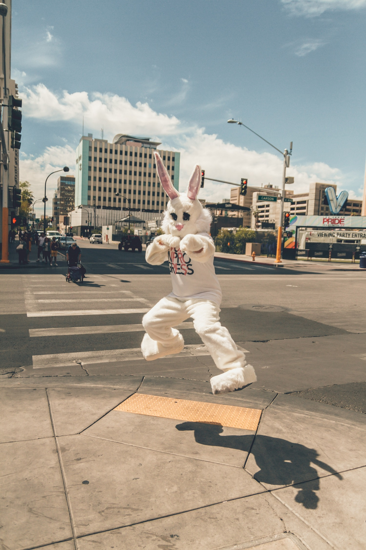 cool event promotion ideas - mascot