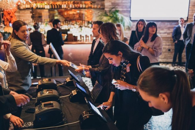 Engaging attendees at events with tech