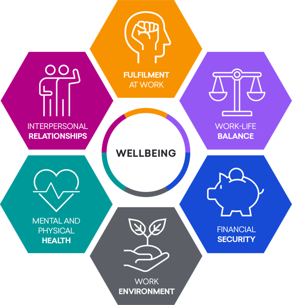 Wellbeing 6 areas