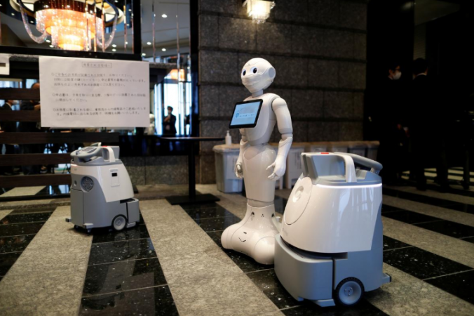 How robots are helping hotels in COVID19