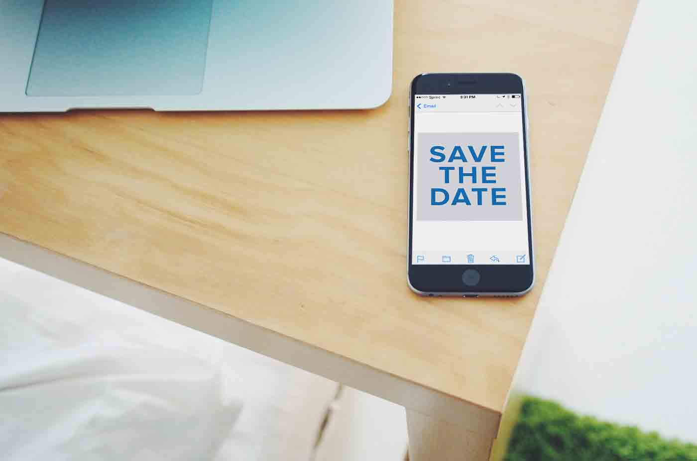 Tuesday Tip: Send A Save The Date Email