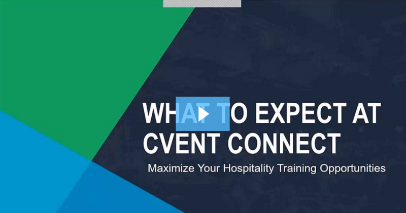 What to Expect at Cvent CONNECT 2017 Webinar
