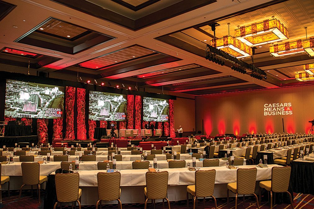 Harrah's Atlantic City ballroom