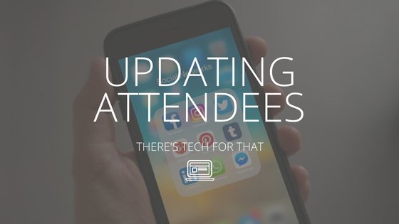 Updating Attendees