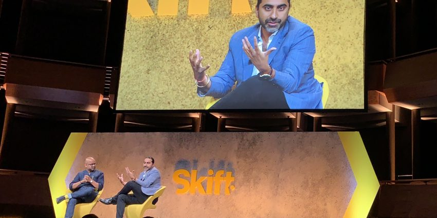 Bharet Malhotra at Skift Global Forum